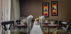 Diamond Rose Guest House Bed and Breakfast Dining Room