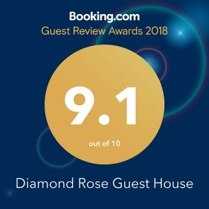 Diamond Rose Guest House Booking.com Reviews
